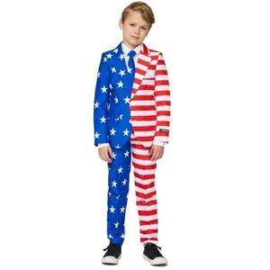 NWT Suitmeister size small boy flag suit